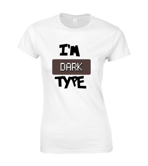 koszulka damska biala im dark type