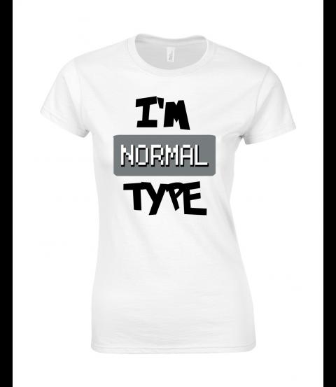 koszulka damska biala im normal type