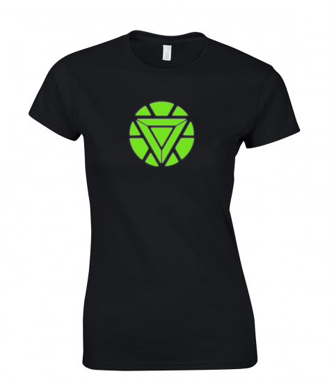 koszulka-damska-iron-man-swiecaca-w-ciemnosci-w-nocy