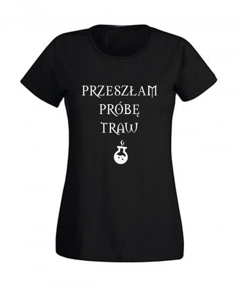 koszulka-damska-przeszlam-probe-traw-czarna