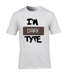 koszulka meska biala im dark type