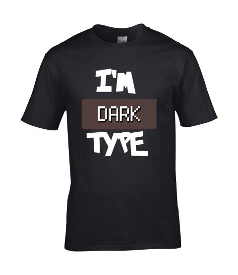 koszulka meska czarna im dark type