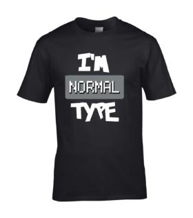 koszulka meska czarna im normal type