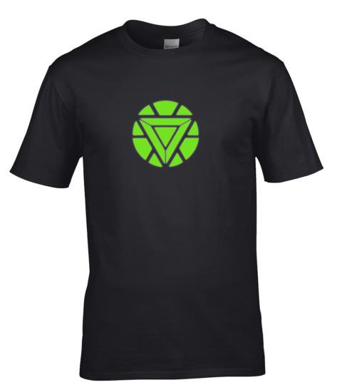 koszulka-meska-iron-men-swiecaca-w-ciemnosci