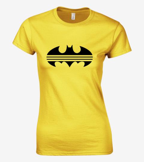 damska koszulka zolta batdidas