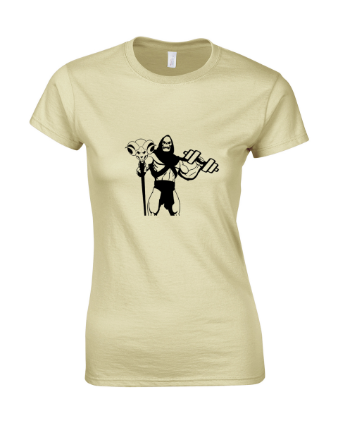 koszulka-damska-szkieletor-kremowy