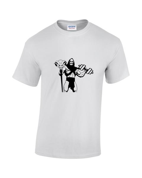koszulka-meska-szkieletor-bialy