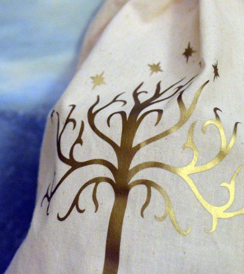 dice bags natural gondor tree