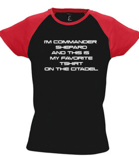 Koszulka damska Mass Effect