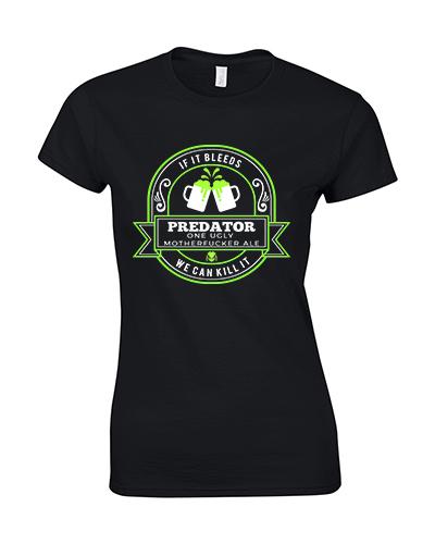 koszulka damska predator piwo