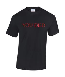 koszulka meska dark souls you died