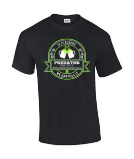 koszulka meska predator piwo