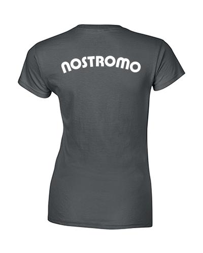 koszulka nostromo damska grafitowa tyl