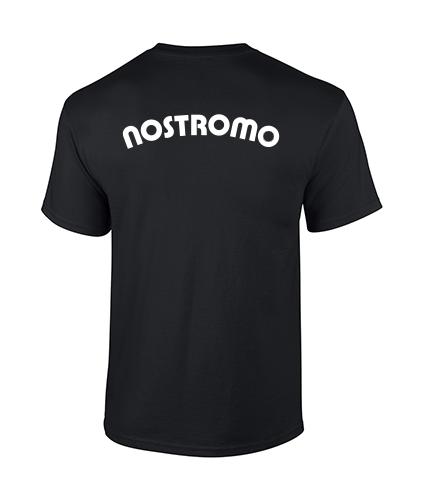 koszulka nostromo meska czarna tyl