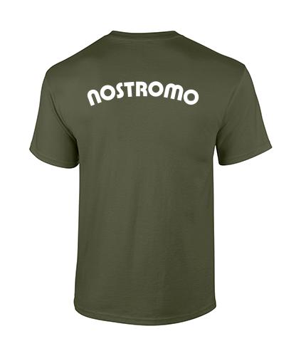 koszulka nostromo meska militarna tyl