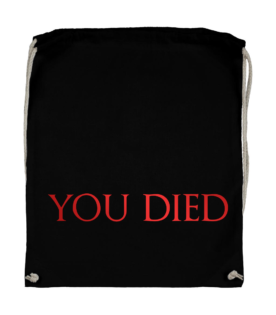 plecak worek dark souls you died