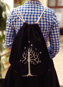 plecak władca pierścieni drzewo gondoru