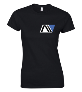koszulka damska czarna andromeda
