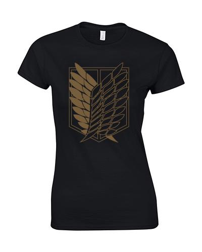 koszulka damska skrzydkła wolności