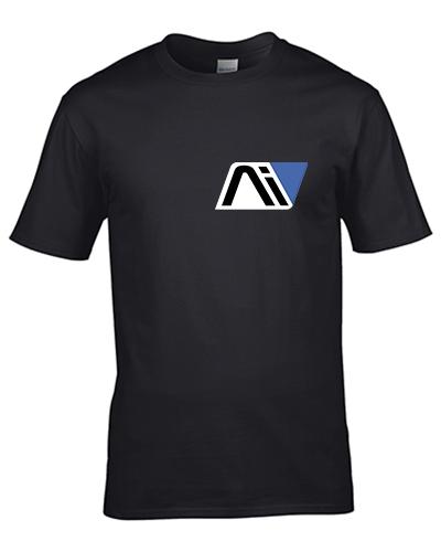 koszulka meska czarna andromeda
