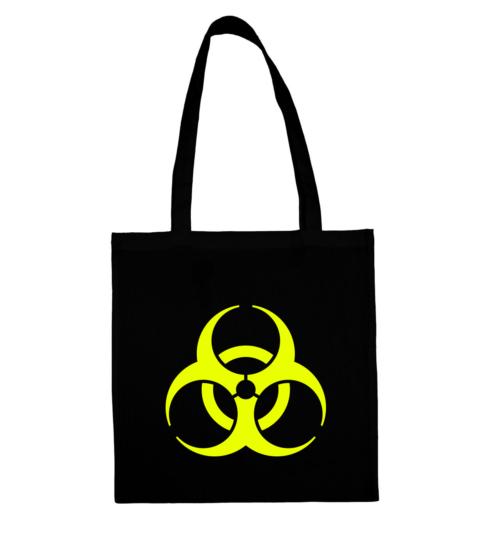 torba biohazard neonowa fallout postapokaliptyczna