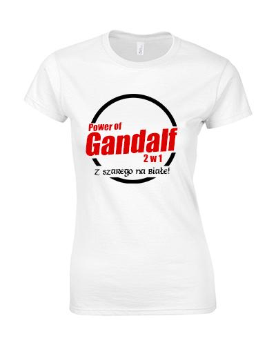 koszulka damska gandalf z wladcy pierscieni