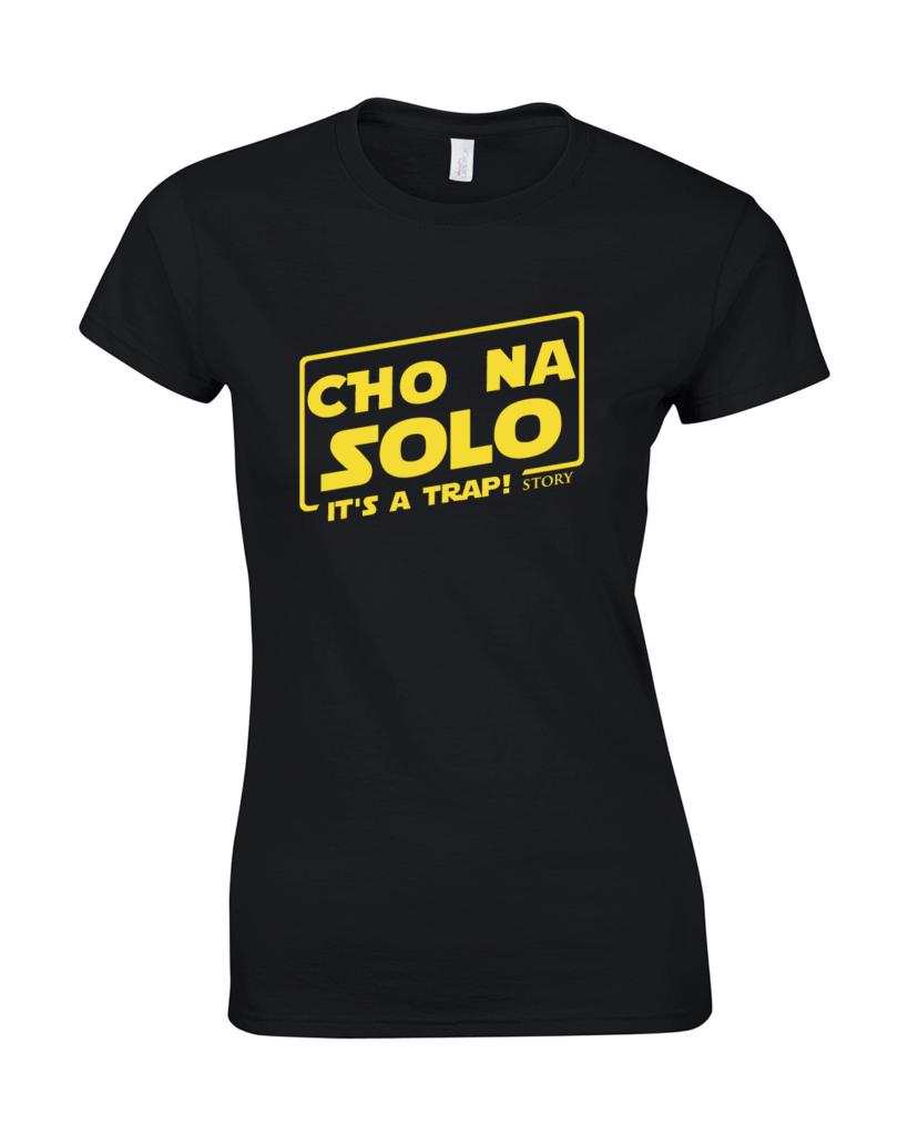 koszulka damska han solo gwiezdne wojny