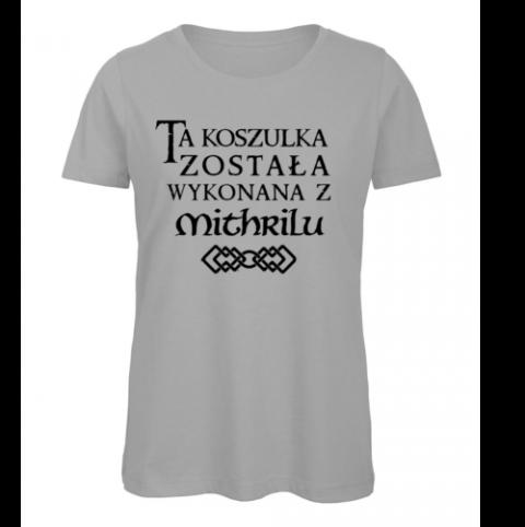 koszulka damska szara mithril