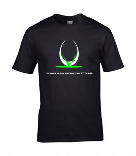 koszulka męska alien