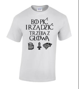 śmieszna koszulka gra o tron