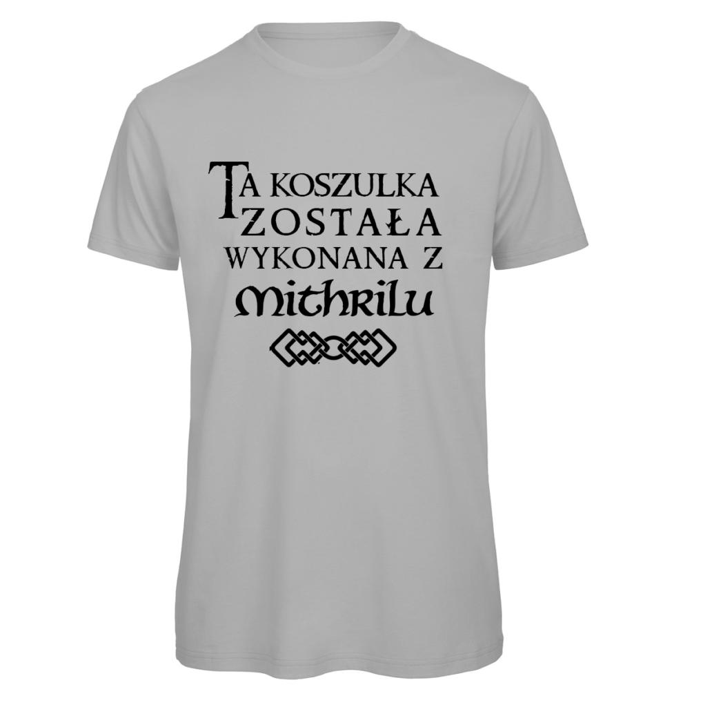 koszulka meska srebrna władca pierścieni Mithril
