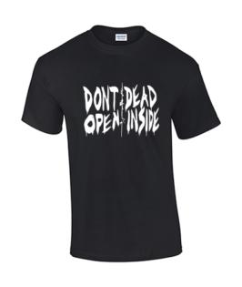 koszullka meska walking dead czarna