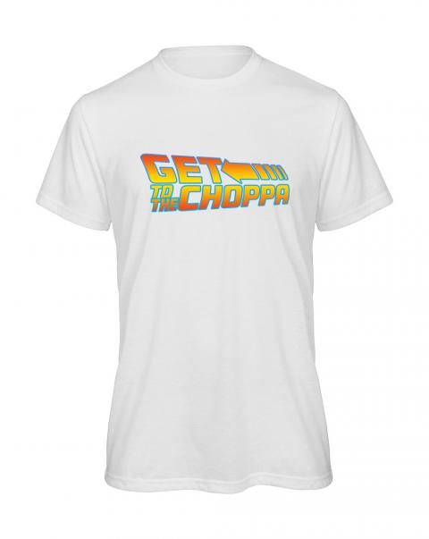 koszulka meska get to the choppa kolorowa