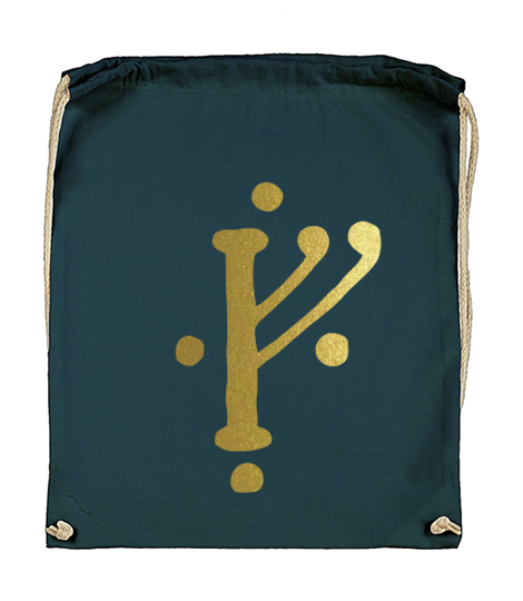 plecak znak gandalfa ciemnoturkusowy